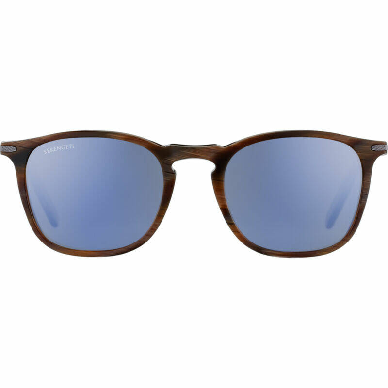 Serengeti Delio Shiny Wood Grain Polarized 8852