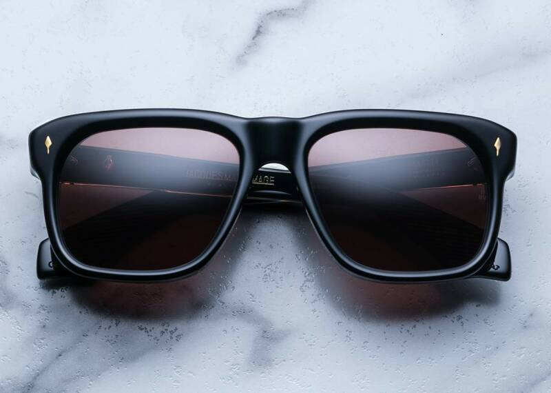 Jacques Marie Mage YVES Eclipse Sienna CR39 18 K Dark Gold JMMYV-6C