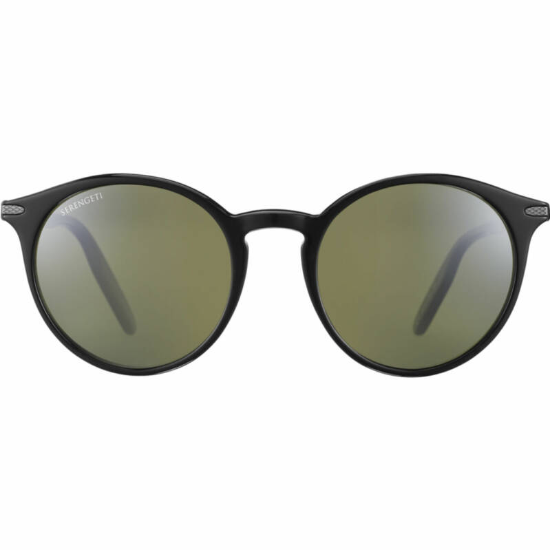 Serengeti Leonora Shiny Black Polarized 8954