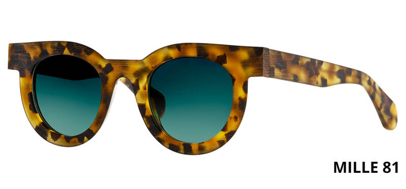 THEO MILLE +81 HAVANA  BROWN DALMATIAN LIMITED EDITION