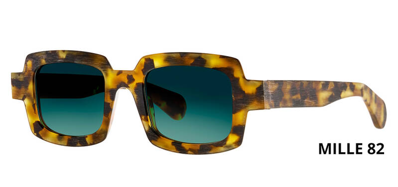 THEO MILLE +82 HAVANA  BROWN DALMATIAN LIMITED EDITION