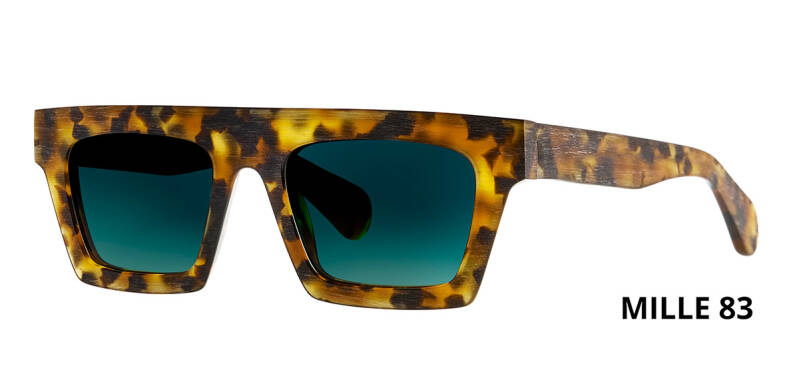 THEO MILLE +83 HAVANA  BROWN DALMATIAN LIMITED EDITION