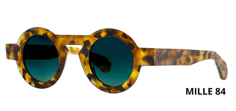 THEO MILLE +84 HAVANA  BROWN DALMATIAN LIMITED EDITION