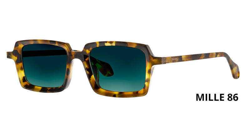 THEO MILLE +86 HAVANA  BROWN DALMATIAN LIMITED EDITION