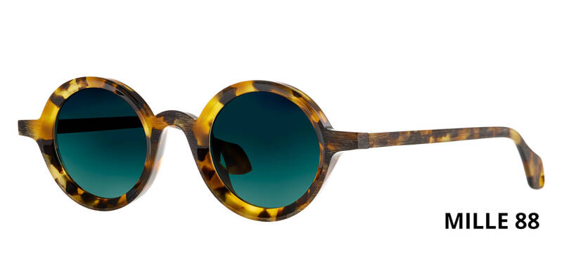 THEO MILLE +88 HAVANA  BROWN DALMATIAN LIMITED EDITION