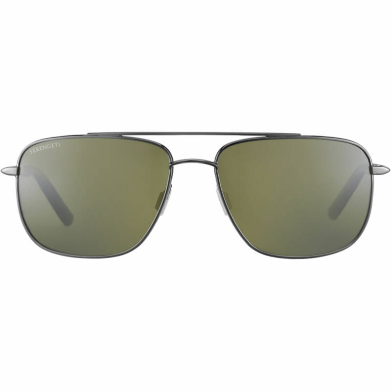 Serengeti Tellaro Shiny Gun Metal Polarized 8820