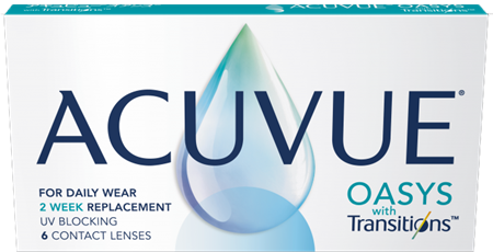 ACUVUE OASYS with Transitions 6-pack