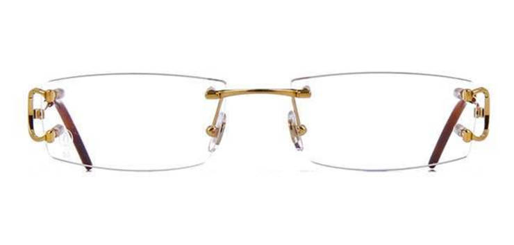 Cartier CT0092O-001 Gold Transparant Piccadilly Optical