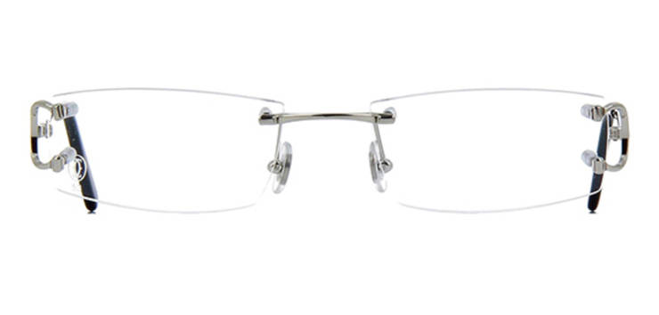 Cartier CT0092O-002 Silver Shiny Transparant Piccadilly Optical | SALE