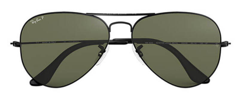 RAY BAN AVIATOR CLASSIC G15 POLARIZED RB3025 002/58 58-14