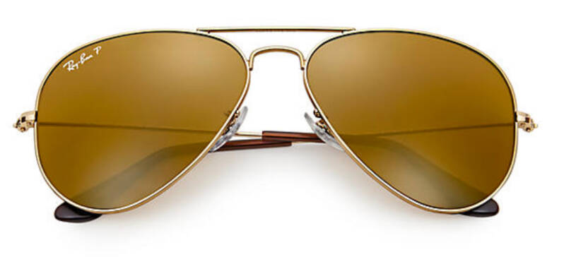 RAY BAN AVIATOR CLASSIC BROWN B-15 RB3025 001/57 58-14