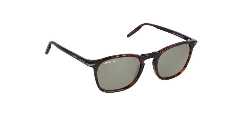 Serengeti Delio Shiny Dark Havana Polarized 8853