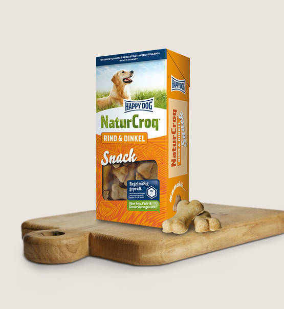 Happy Dog Snacks - Natur Snack Rind & Dinkel