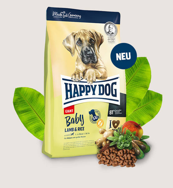 Happy Dog Supreme Young - Baby Giant Lamb & Rice