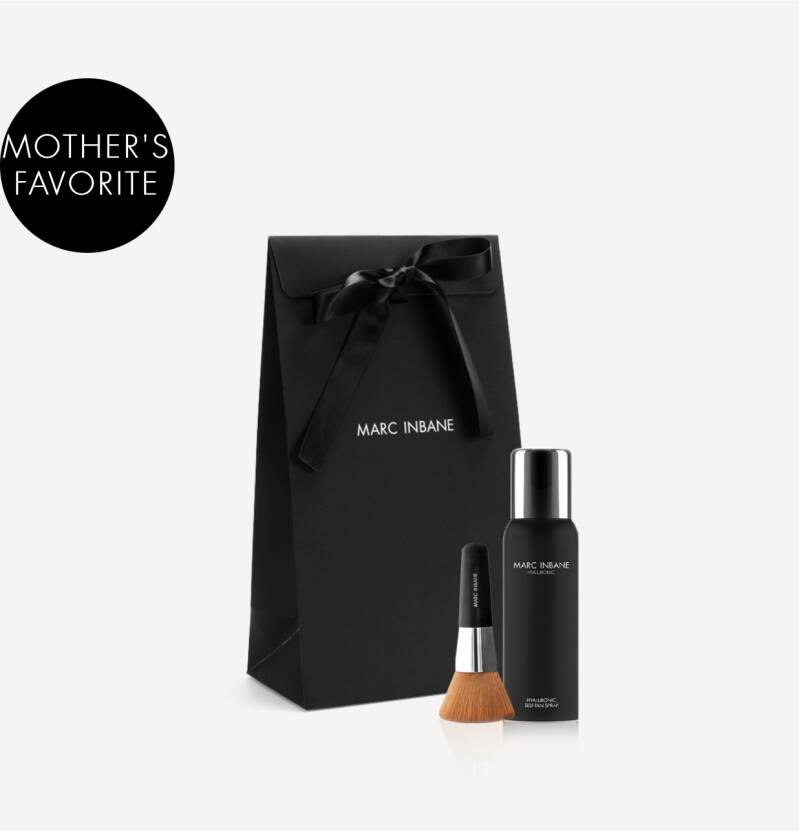 Marc Inbane - Hyaluronic Self-Tan Spray x Kabuki Set