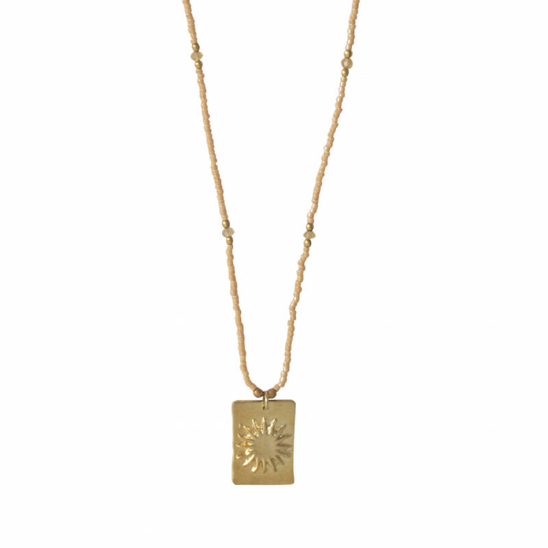 A Beautiful Story: Delight Citrien Goud Ketting