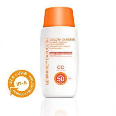 Germaine de Capuccini - Sun CC Cream Sun emulsion SPF 50 (tinted)