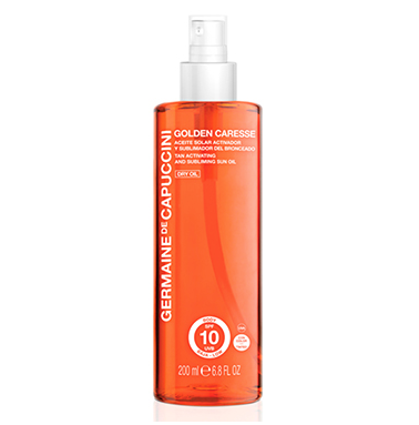 Germaine de Capuccini - Tan Activating and Subliming Sun Oil SPF 10 Dry Oil Tinted