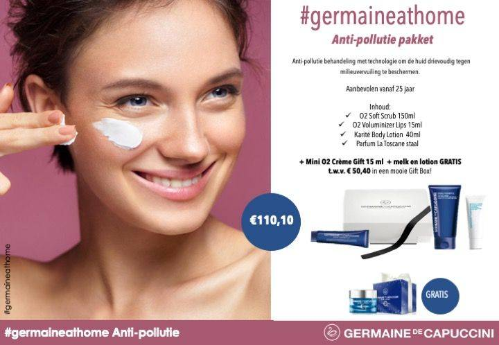 Germaine at home - Anti-pollutie pakket
