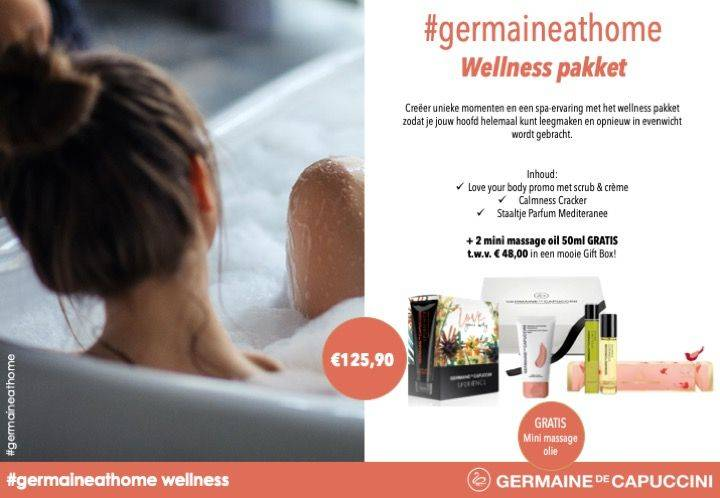 Germaine at home - Wellness pakket