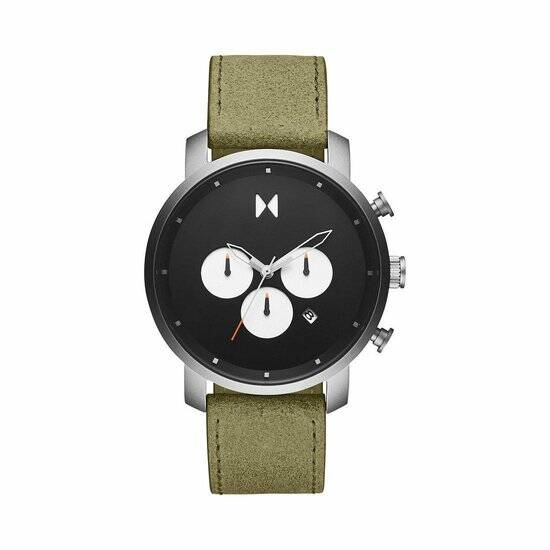 MVMT | Element Chrono Steel/Green | Herenhorloge