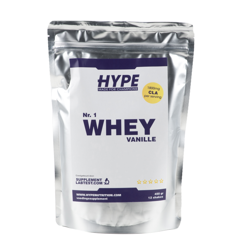 Nr.1 Whey 450 gram - Hype Nutrition