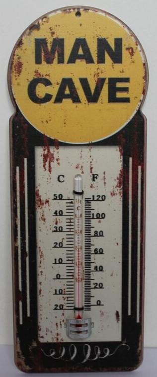 Mancave Toys vintage thermometer Man Cave