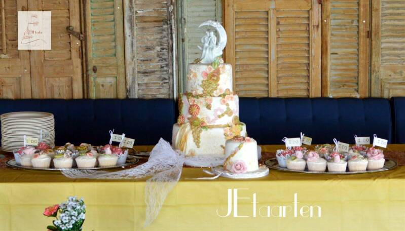 Chic Wedding Sweet-table pakket v.a. €1250,00 (incl. btw)