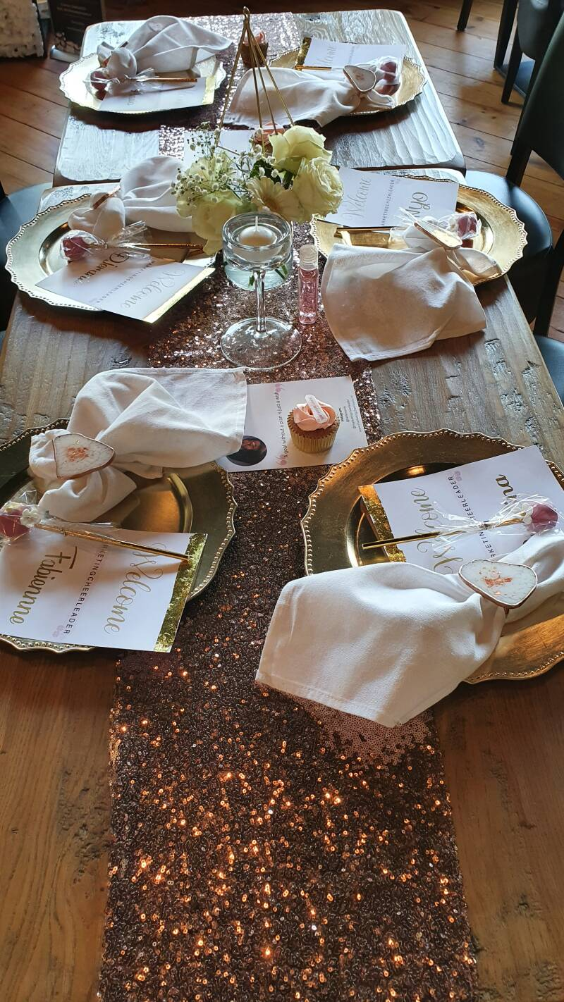 Glam Wedding Celebration - LUXURIOUS TABLE STYLING