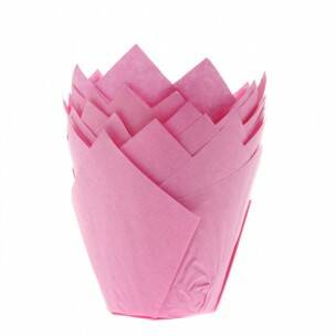 muffin cups roze