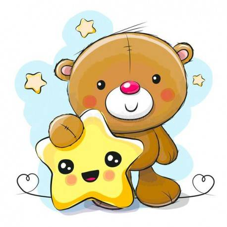 Little Bear with Star