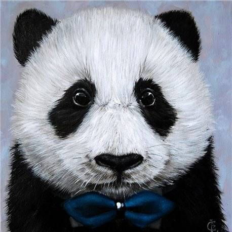 Panda with Bow Tie