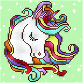 Diamond Art Fun Unicorn