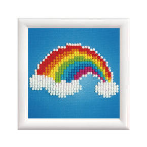 Diamond Dotz Ever Living Rainbow with Frame