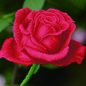 Diamond Dotz Rose Bud