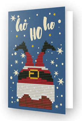 Diamond Dotz Greeting Card Ho Ho Ho