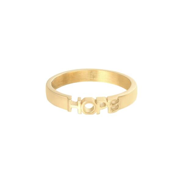 Hope ring gold