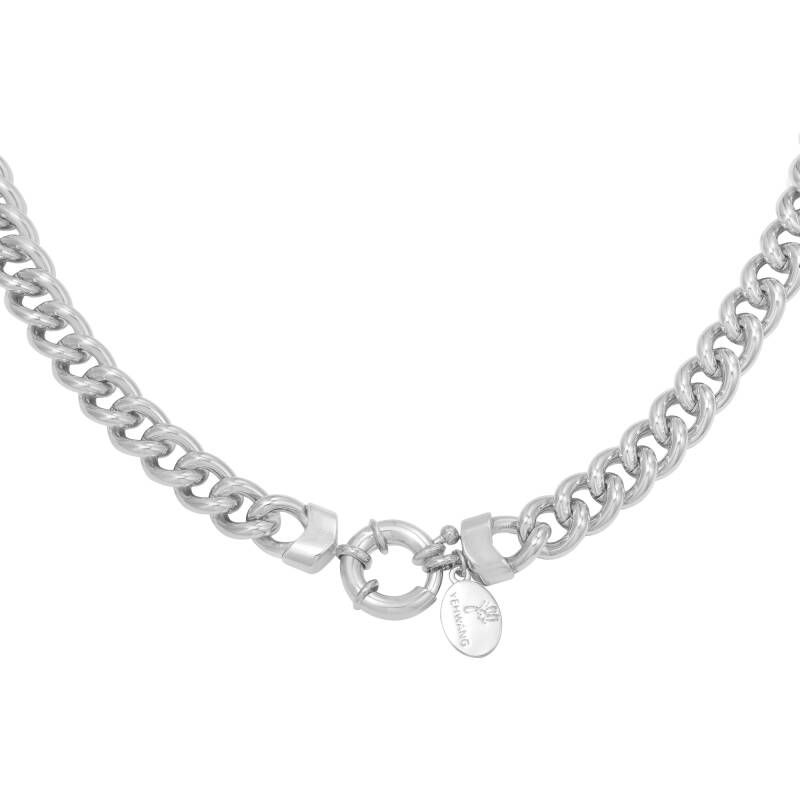 Holly chain necklace silver