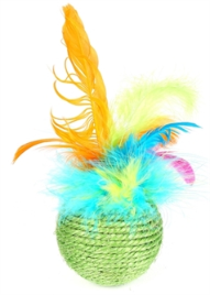 CAT 'N' CABOODLE TROPICAL FEATHER ROLLER