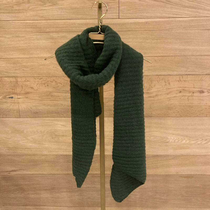 Pieces Pyron Structure Scarf Groen