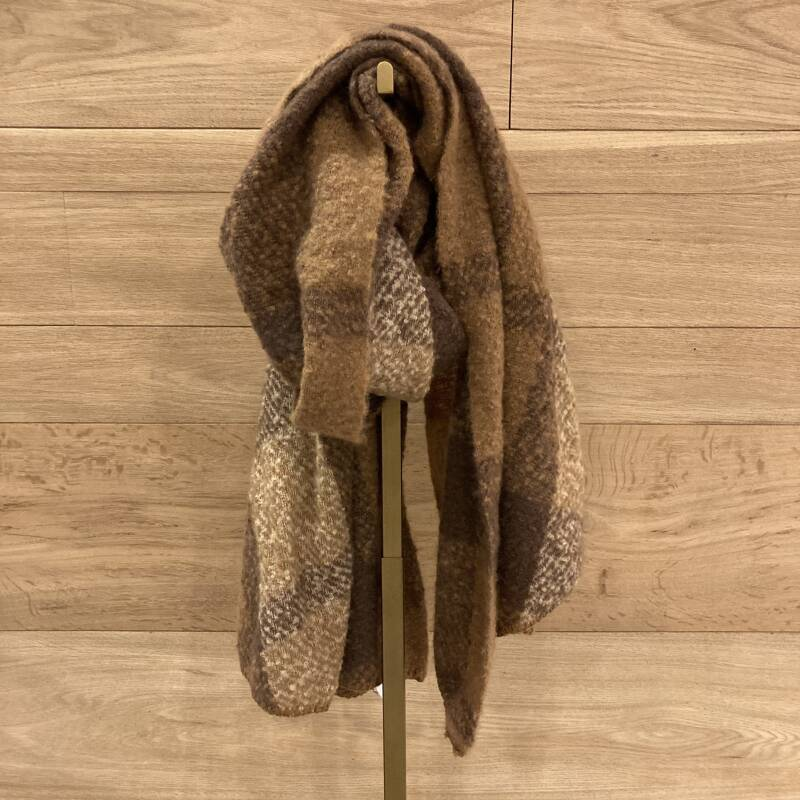ONLY Lima Scarf 01 Bruin