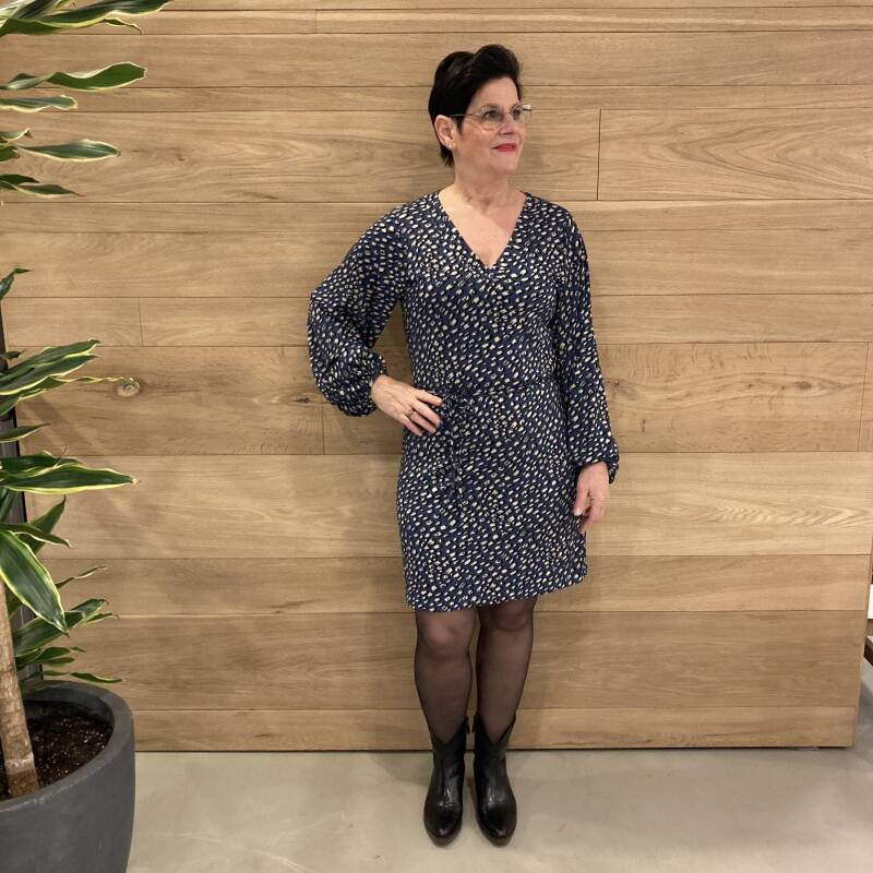 JDY Frederike Dress Blauw