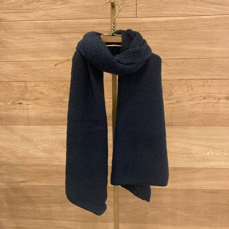 Pieces Pyron Scarf Donkerblauw