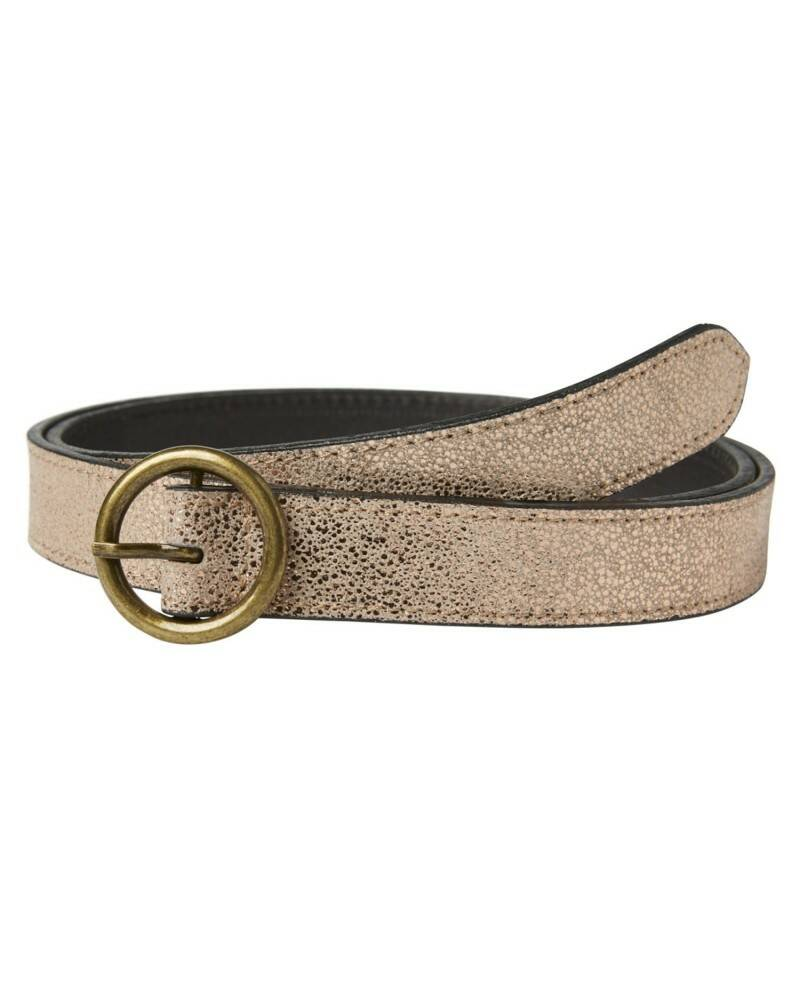 Pieces Camille Suede Belt Goud