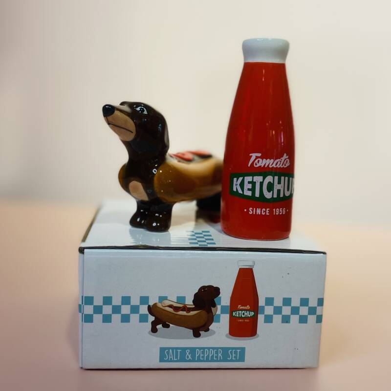 You're the Ketchup to my Hotdog