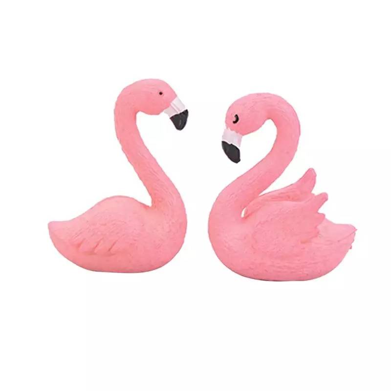 Flamingo set van 2