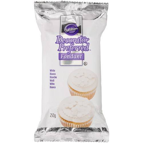 Wilton Decorator Preferred fondant wit 250 gram