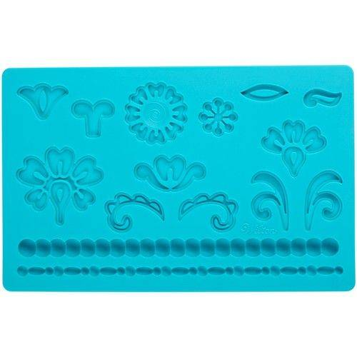 Wilton mold Damask parelmal