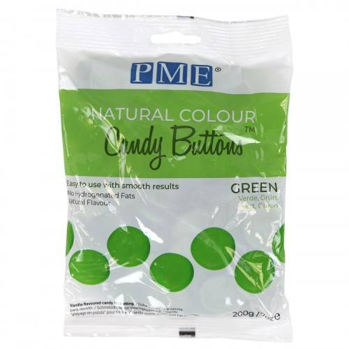 PME natura Colour Dandy Buttons groen 200 gram