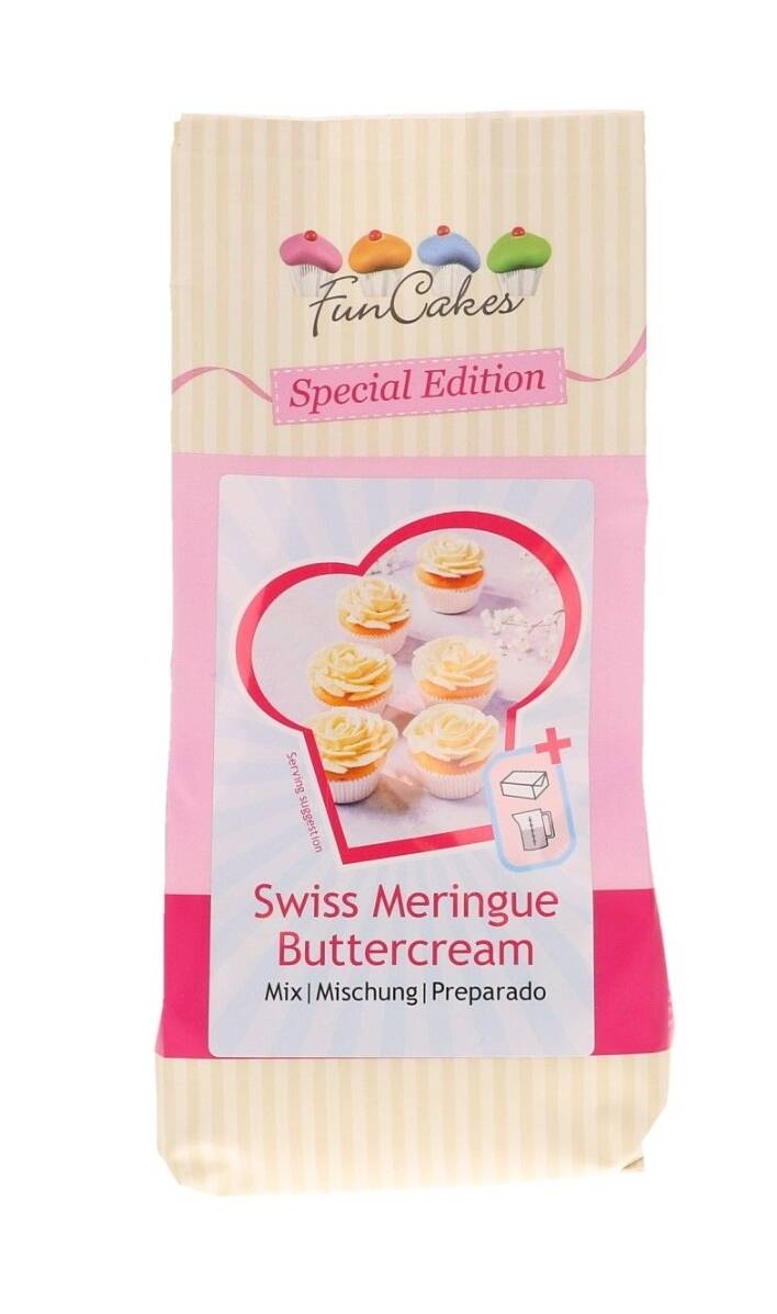 Funcakes Special Edition Mix Swiss Meringue Botercreme 400 gram